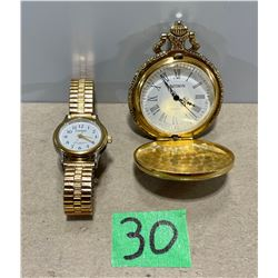 LOT OF 2 WORKING WATCHES