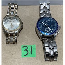 LOT OF 2 MENS WORKING WRIST WATCHES