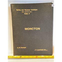 1936 - 7 T. EATON SPRING & SUMMER CATALOGUE - EXCELLENT CONDITION