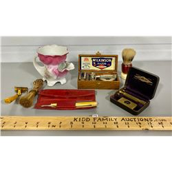 VINTAGE MEN'S SHAVING LOT