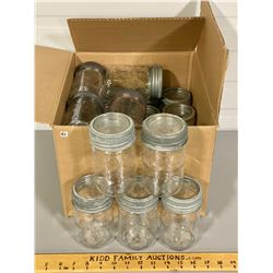 QTY OF CROWN CANNING JARS