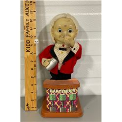 VINTAGE BATTERY OPERATED TOY BARTENDER