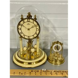 LOT OF 2 ANNIVERSARY CLOCKS