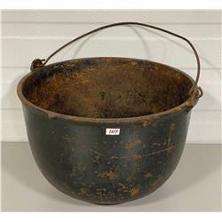 "11.5"" DIAMETER CAST IRON CAULDRON"