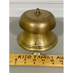SOLID BRASS DOOR BELL - TAYLOR'S