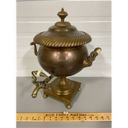 ANTIQUE COPPER / BRASS COFFEE URN FROM BEILD HOUSE B&B - COLLINGWOOD