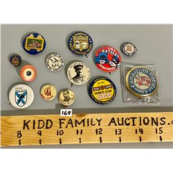 LOT OF VINTAGE MISC PINS