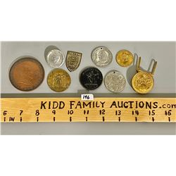 LOT OF 11 COLLECTIBLE MEDALLIONS