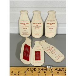 LOT OF FENELON DAIRY ADVERTISING GIVE AWAYS - SEWING KITS