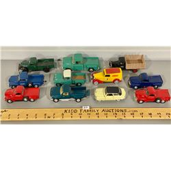 LOT OF 11 DIE CAST TOY VEHICLES