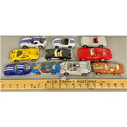 LOT OF 10 TOY RACE CARS