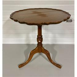 PIE CRUST SIDE TABLE