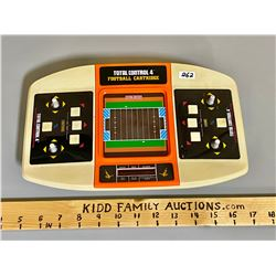 VINTAGE COLECO TOTAL CONTROL 4 FOOTBALL CARTRIDGE - BATTERY OPERATED