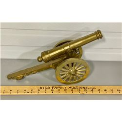 1974 CNR DECORATIVE BRASS CANNON