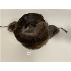 MENS RUSSIAN MINK HAT - VG CONDITION