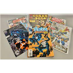 LOT OF 6 MARVEL COMICS - INCLUDES CONAN