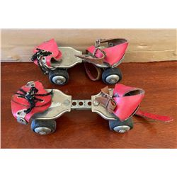 PAIR OF VINTAGE ROLLER SKATES - MFG BY WECO