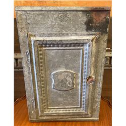 ANTIQUE TIN WARMING OVEN