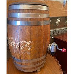 """COCA-COLA / ROOT BEER KEG - 32"""" H"""