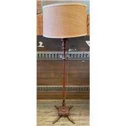VINTAGE FLOOR LAMP - DUNCAN PHYFE STYLE