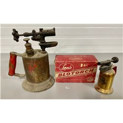 LOT OF 2 BLOW TORCHES - MFG BY LINK