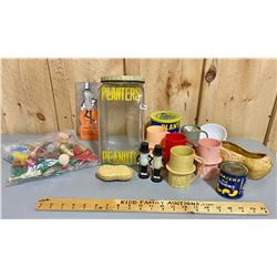 """LOT OF COLLECTIBLES FROM PLANTERS """"MR PEANUT"""""""