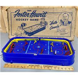 FOSTER HEWITT VINTAGE HOCKEY GAME W/ ORIG BOX