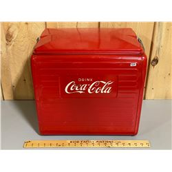 VINTAGE COCA-COLA  CAMP COOLER - VG CONDITION - 1963