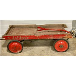 ANTIQUE CHILD'S 'JETLINER' WAGON