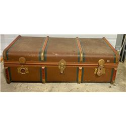 "ANTIQUE STEAMER TRUNK - 20"" X 39"""