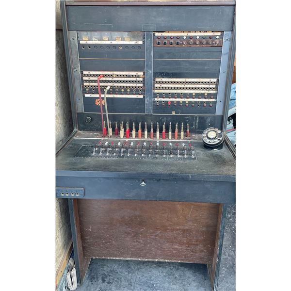ANTIQUE SWITCHBOARD