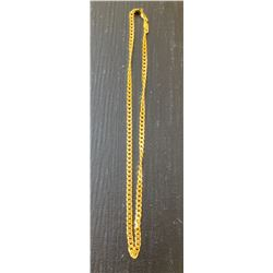 24 INCH GOLD CHAIN - HEAVY SOLID QUALITY - NO MARKINGS