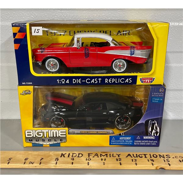 LOT OF 2  1/24 SCALE DIECAST VEHICLES