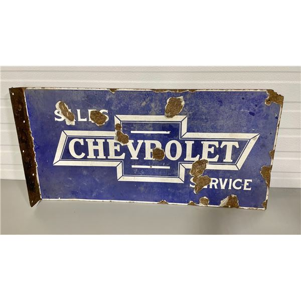CHEVROLET DSP FLANGE SIGN