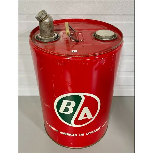 B/A 5 GALLON CAN