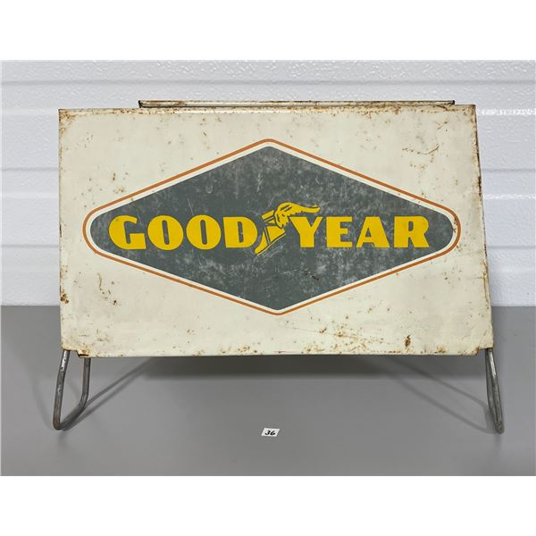 GOODYEAR TIN TIRE STAND