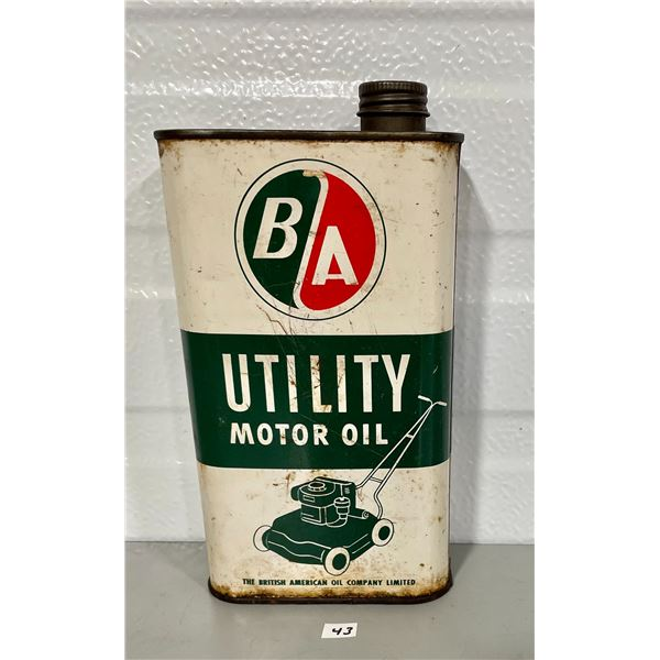 B/A OUTBOARD UTILITY 1 QUART MOTOR OIL CAN