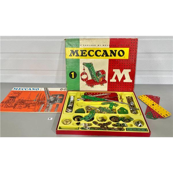 MECCANO #1 CRANE SET 1964