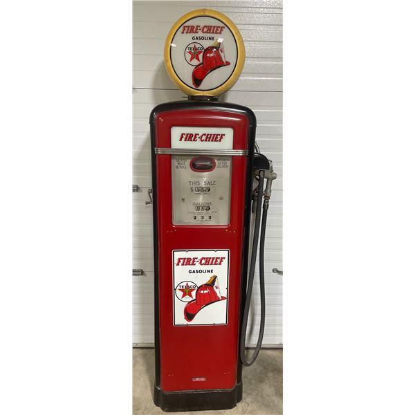 FIRE-CHIEF GILBERT & BARKER GAS PUMP MODEL 298-39