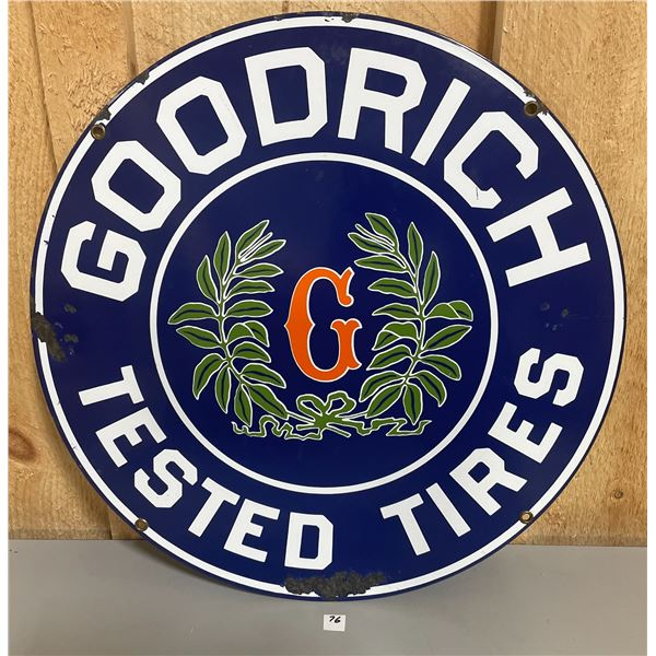 GOODRICH TESTED TIRES SSP SIGN
