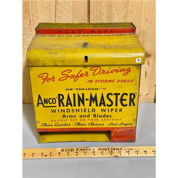 ANCO RAIN-MASTER STORE DISPLAY W / MAP RACK