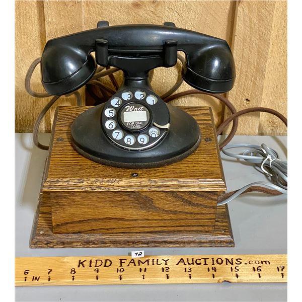NORTHERN ELECTRIC BAKELITE ROTARY PHONE & BOX