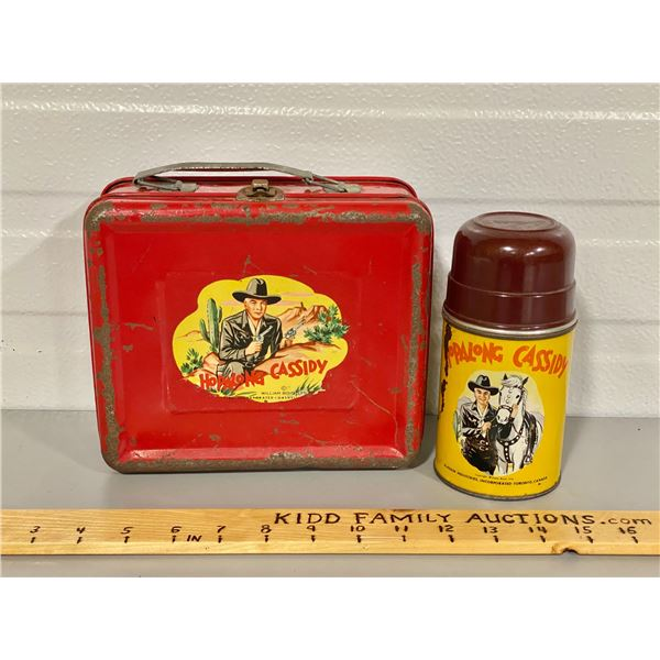 HOPALONG CASSIDY LUNCH BOX & THERMOS
