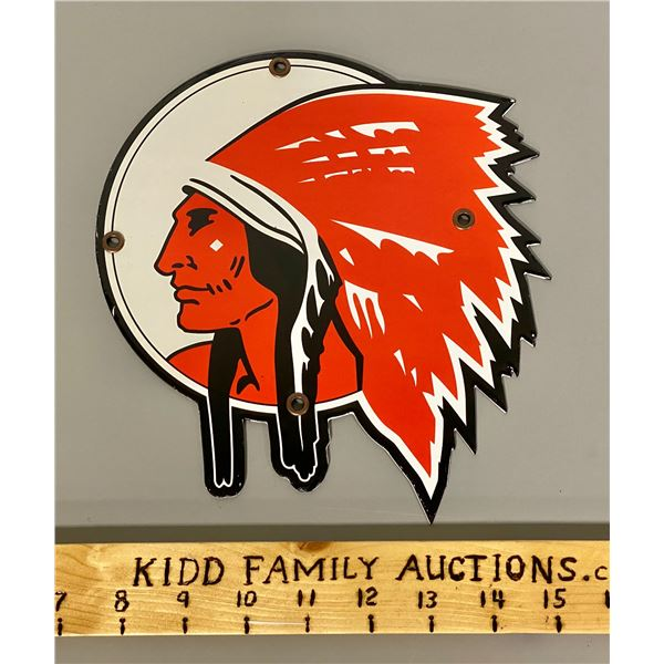 RED INDIAN SSP SIGN - REPRO