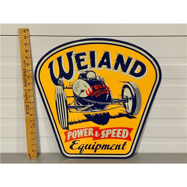 """WELAND EQUIP SST SIGN - 20"""" HIGH"""