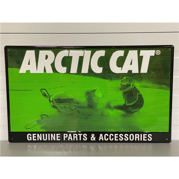 "ARCTIC CAT SST SIGN - 17.5"" X 29.5"""