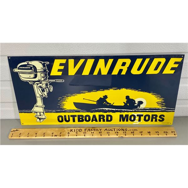 "EVINRUDE SST SIGN - 20"" - DESPERATE SIGN CO"