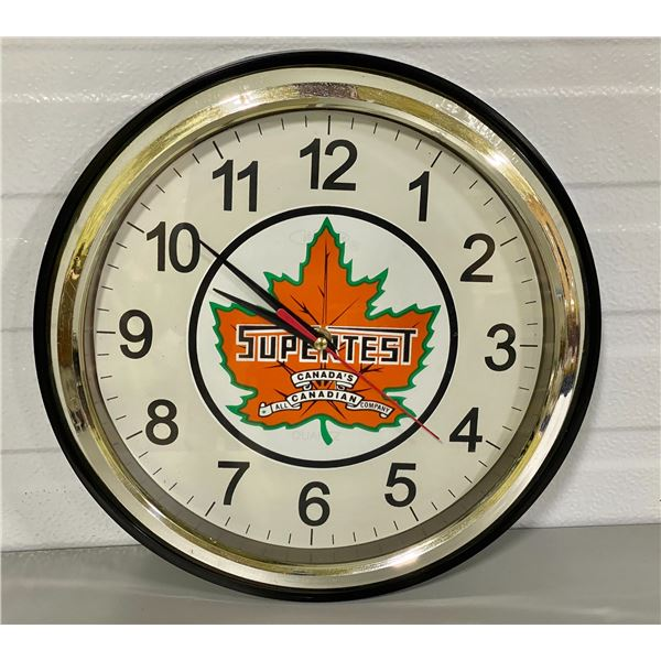 SUPERTEST CLOCK - WORKING