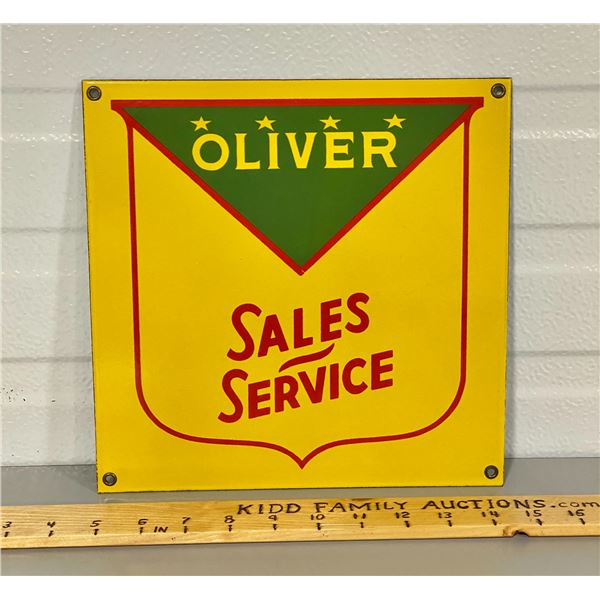 "OLIVER SALES SSP 10"" SQ SIGN"
