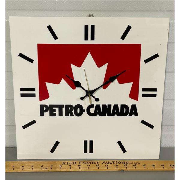 PETRO - CANADA CLOCK - WORKING